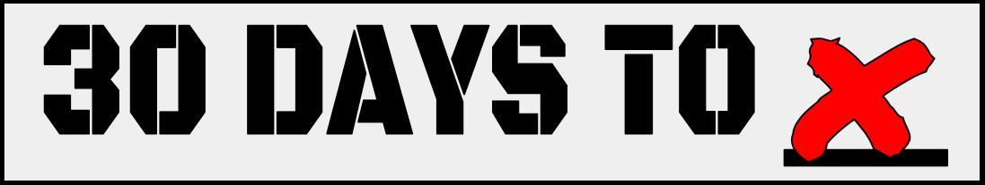 30 Days To X
