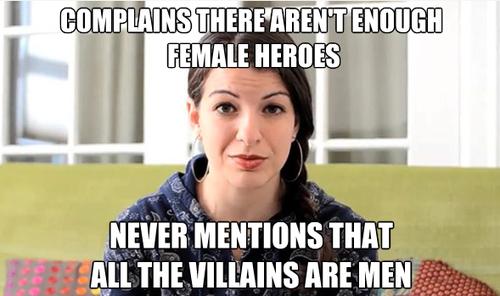 Feminist moron