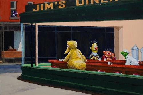 Nighthawks Sesame Street