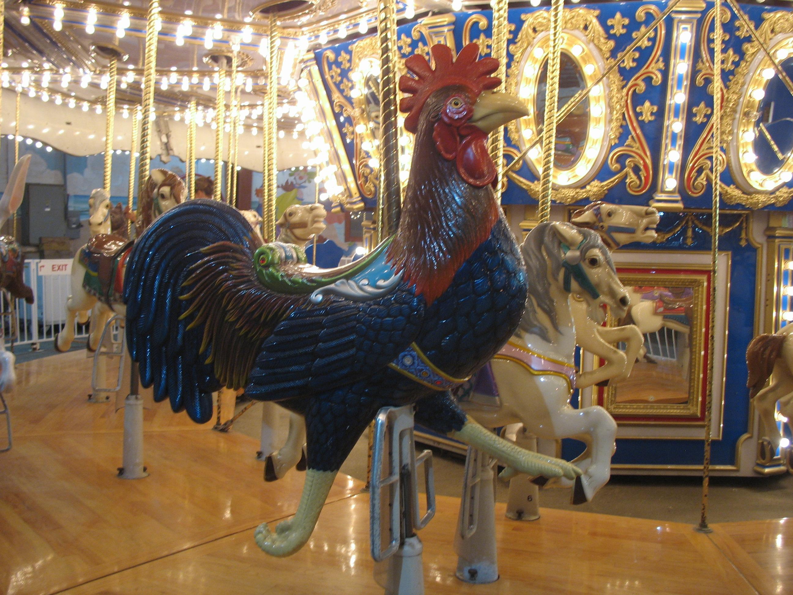 Cock carousel