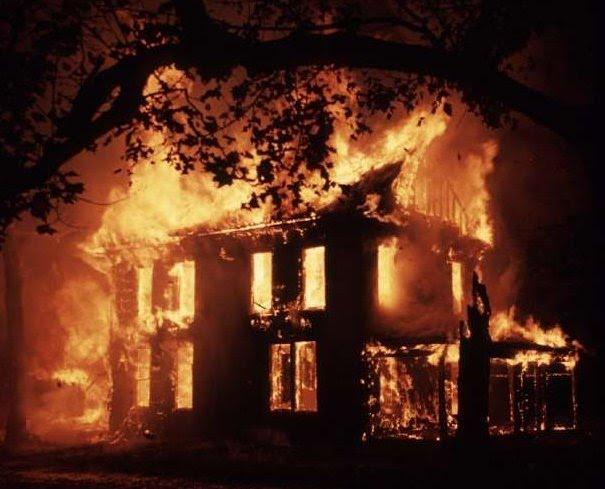 House Fire Hookah Carousel