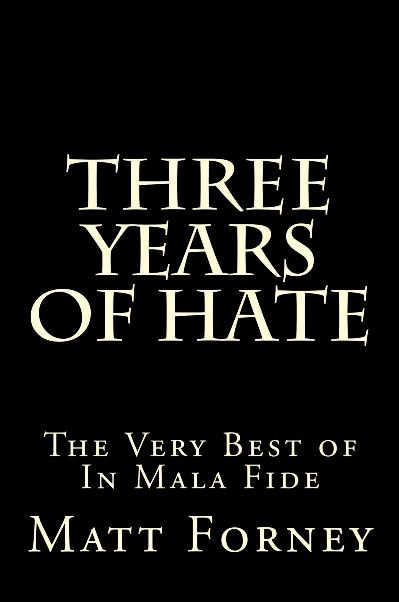 Three Years of Hate #1
