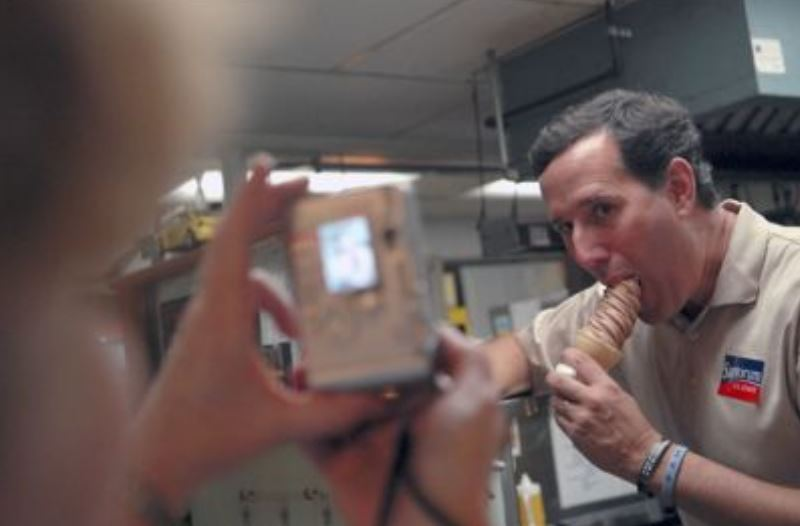 Rick Santorum Being Gay