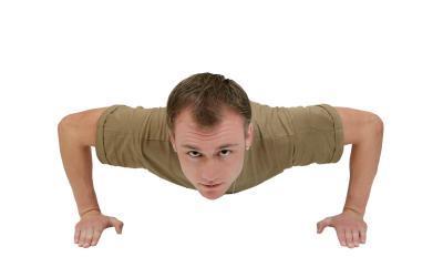 How you can train to failure - push-ups