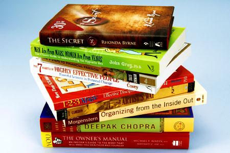 Self-help books don't work - books