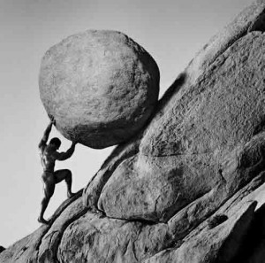Sisyphus- Should young men work hard