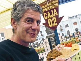 Anthony Bourdain in Peru
