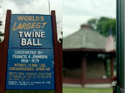 Are tourist towns worth visiting - World's largest twine ball