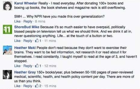 NPR trolling