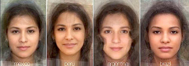 What does the average Peruvian girl look like