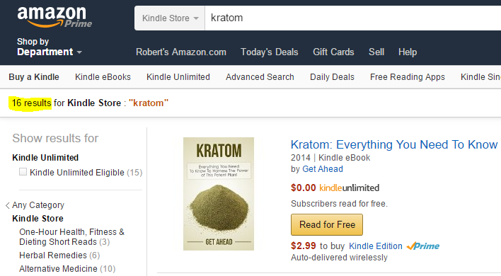 ebooks about kratom