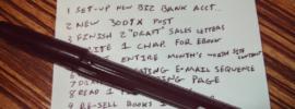 Better Writer To Do List
