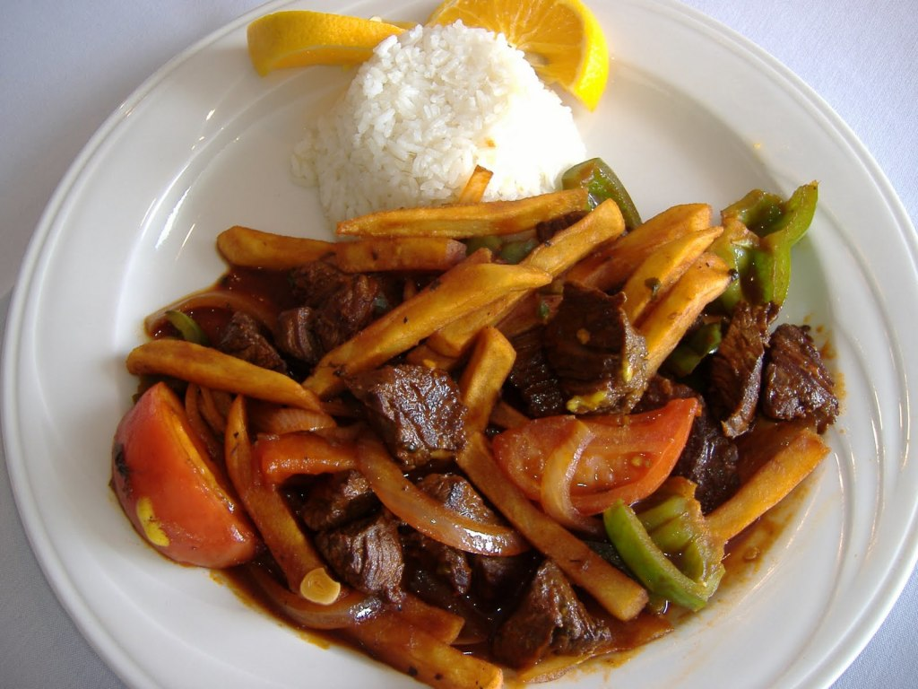 Peruvian Food Lomo Saltado